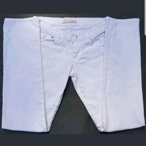 Flying Monkey Women's Jeans Size 5 White Skinny
